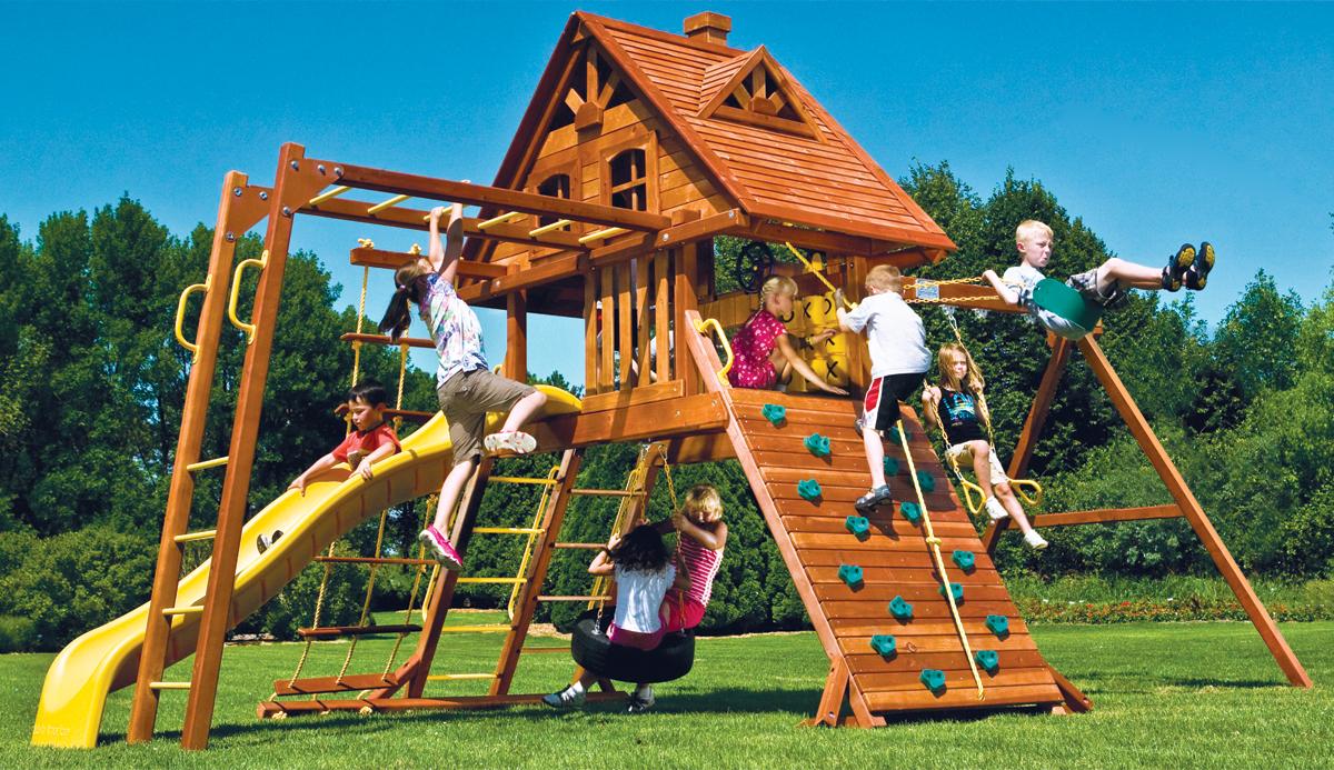 Игровой комплекс своими руками для детей фото