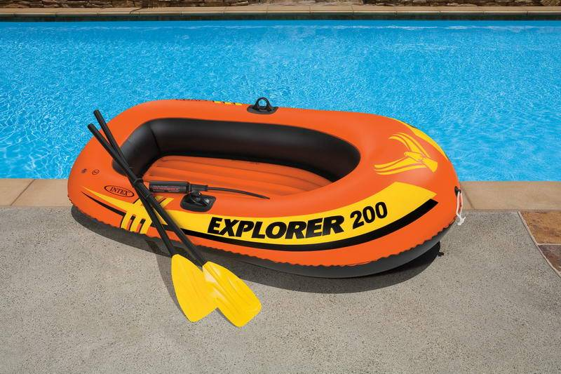 58331 Explorer 200 весла+насос