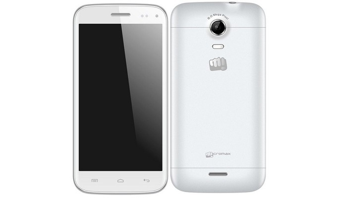 Micromax A200 Canvas Turbo Mini White фото