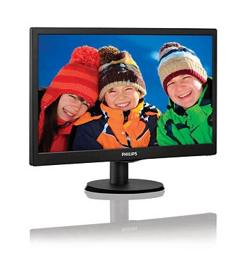 Монитор Philips 193V5LSB2/10 Black фото №2