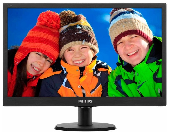 Монитор Philips 193V5LSB2/10 Black фото