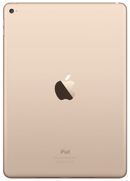 Apple iPad Air 2 Wi-Fi 16GB - Gold MH0W2RU/A фото №3