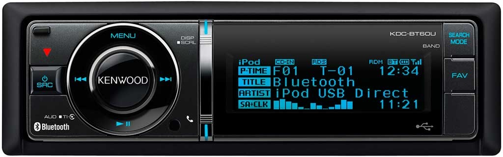 CD ресивер Kenwood KDC-BT60U фото