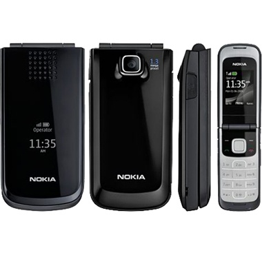 Nokia 2720 Fold Black With Game фото №2