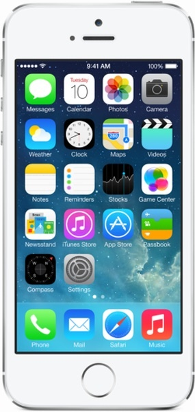 Apple iPhone 5S 16Gb Silver фото