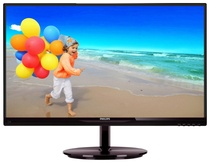 Монитор Philips 224E5QSB/00 Cherry Black