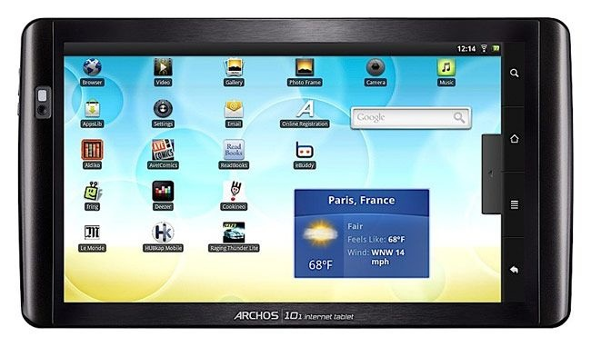 Archos 101 Internet tablet 16Gb фото