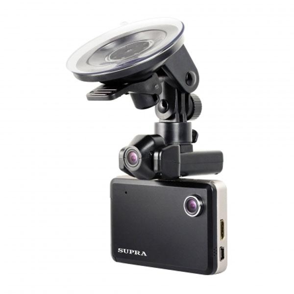 Видеорегистратор с двумя камерами supra